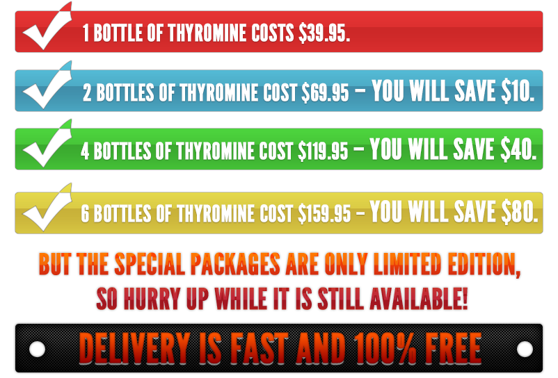 Thyromine Supplement Cutting Edge Thyroid Support